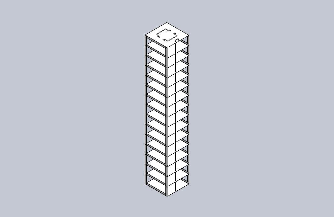 CFDP-15 - Vertical Racks L127.7