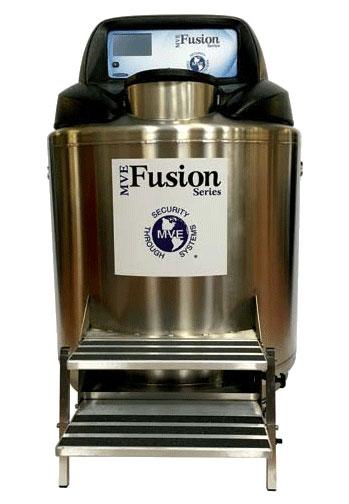 Chart MVE LN2 Fusion Freezers (Self-sustaining Cryogenic Storage)