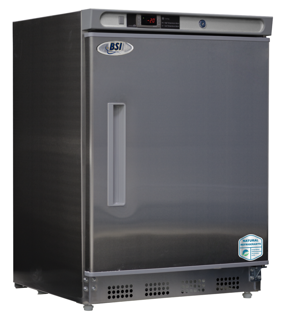 BSI Built-In Stainless Steel Undercounter Manual Defrost Freezer | 4.2 Cu. Ft.