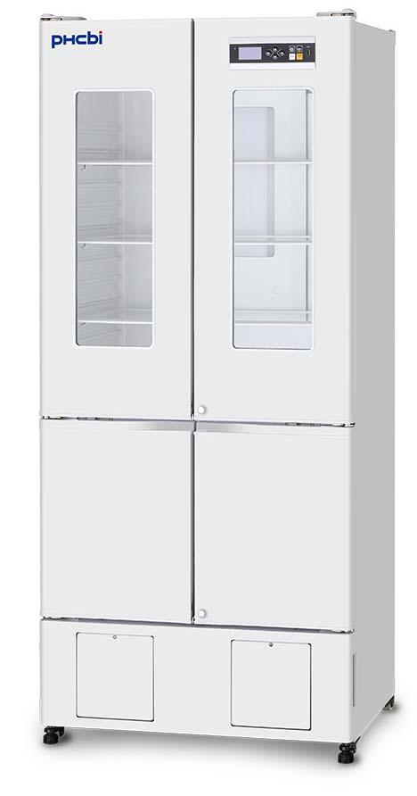 PHCbi MPR Series Glass Door Pharmaceutical Combo Refrigerator/Freezer | 11.5 / 4.8 cu. ft.