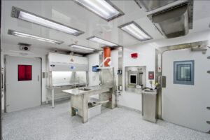 Custom Built Bio-Containment Workstations & Pass-Thrus