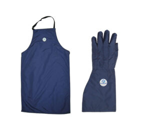Gloves & Aprons for Liquid Nitrogen Handling