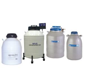 LN2 Dewars for Storage of Liquid Nitrogen & Research Samples