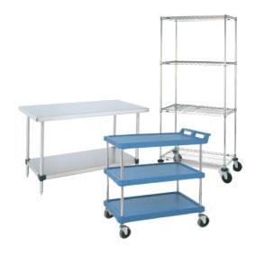 Laboratory Tables, Carts & Shelving