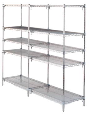 Shelving for Laboratory & Clinical Applications