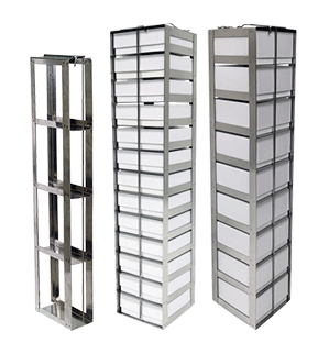 Vertical & LN2 Freezer Racks