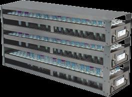 Stainless Upright Freezer Racks for Blood Tubes