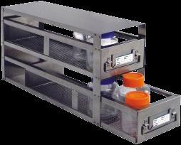 Stainless Upright Freezer Racks for Bottles