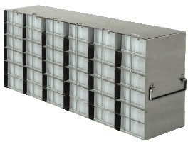 Stainless Upright Freezer Racks for Microtube Boxes