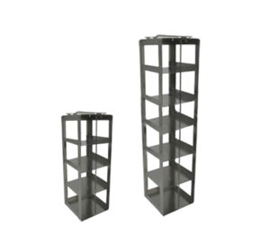 Stainless Vertical Freezer Racks for 3.75 inch Boxes