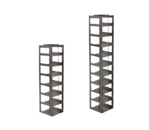Stainless Vertical Freezer Racks for MATRIX & FluidX Boxes