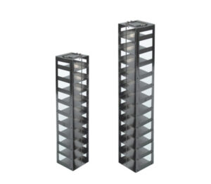 Stainless Vertical Freezer Racks for Microtiter Plates
