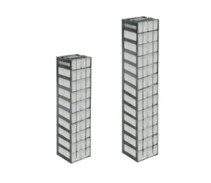 Stainless Vertical Freezer Racks for Microtube Boxes