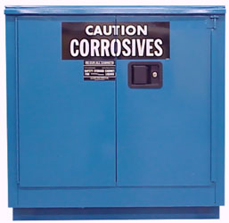 Storage Cabinets & Lockers for Corrosive Materials