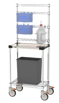 Storage for PPE Equipment & Sanitizers