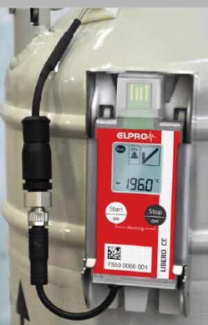 Thermometers & Data Loggers for Liquid Nitrogen Storage