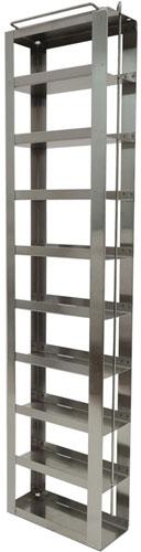 Vertical Freezer Racks for COVID-19 Box Storage